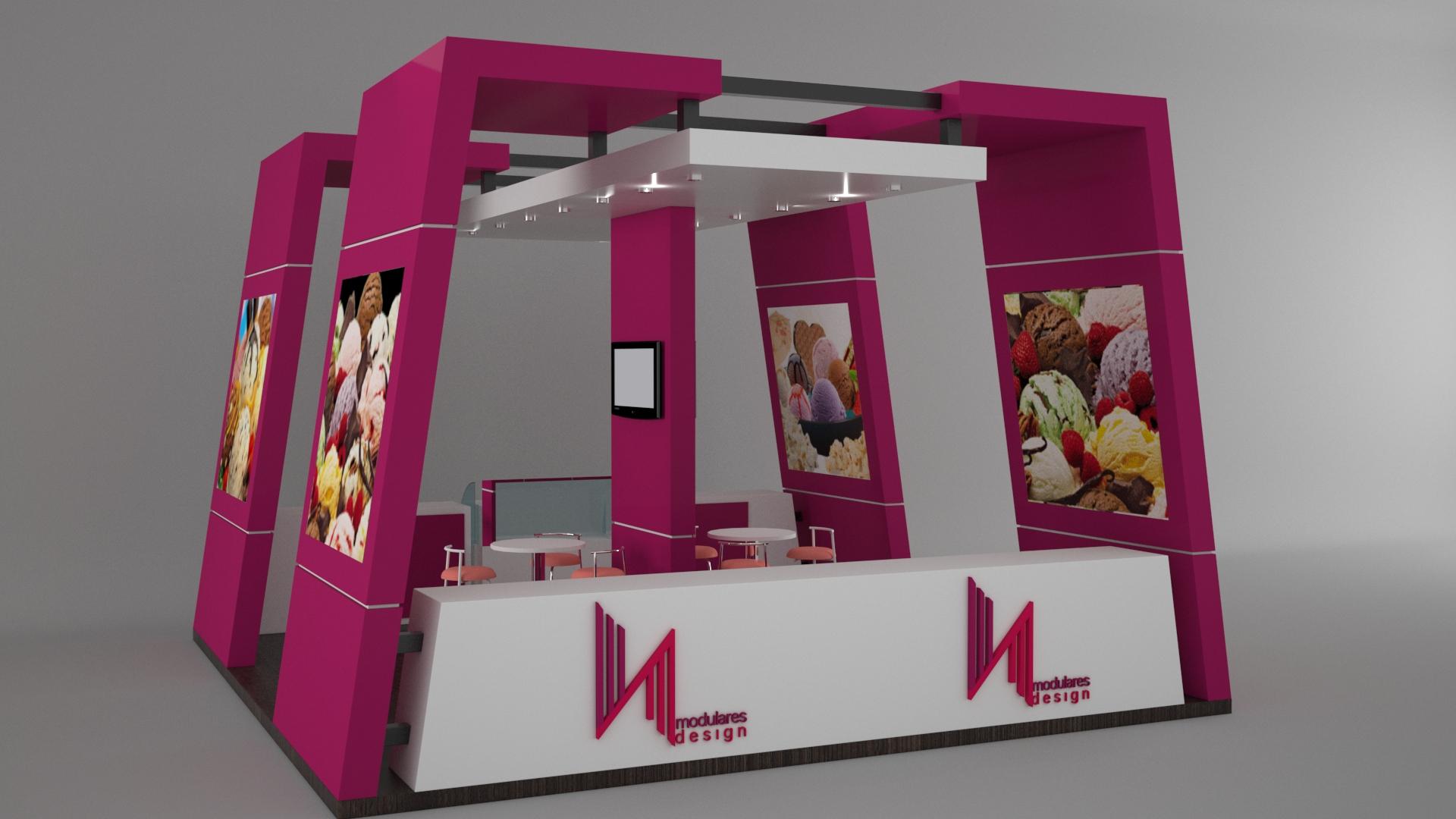 Stands para ferias de exposiciones exhibidores modulos for Muebles y decoracion para el hogar
